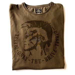 Diesel Industry Only the Brave Graphic T-shirt L
